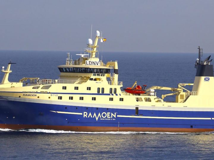 Ramoen Unveil New Trawler